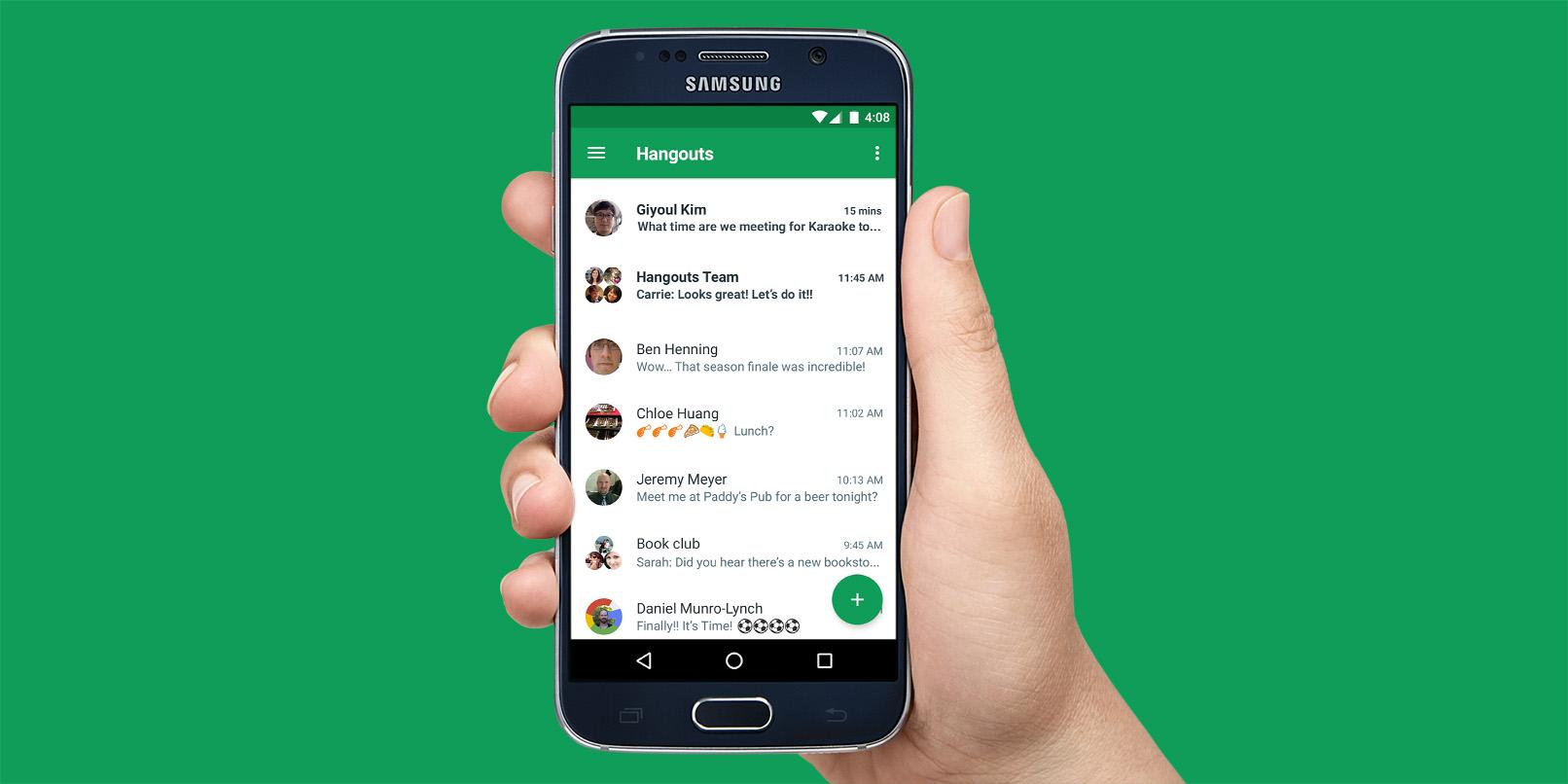 Mobile Hangouts