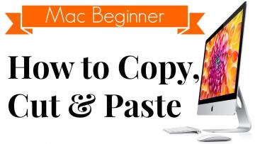 How to Copy, Cut or Paste on a Mac using keyboard shortcuts, contextual menu and trackpad?