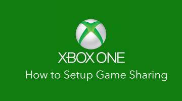 Xbox One Console: How to gameshare on Xbox with your family members or companion