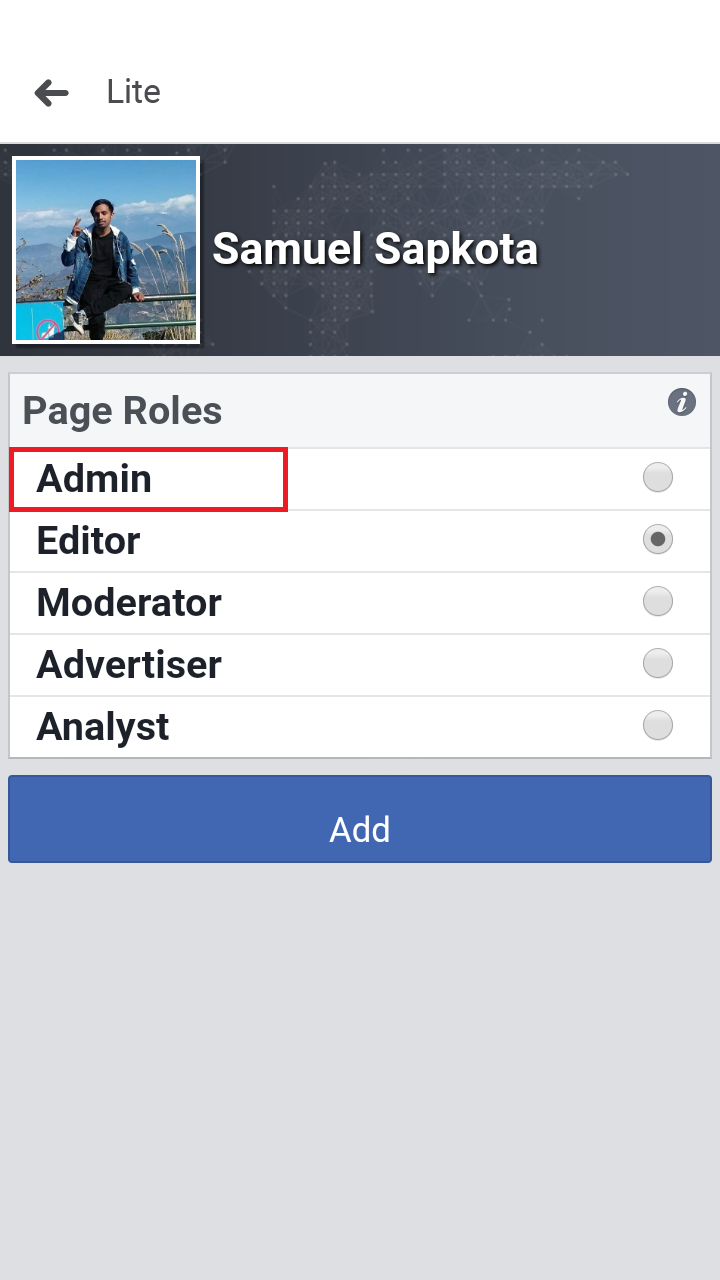 How to add admin to Facebook page on desktop and mobile ...