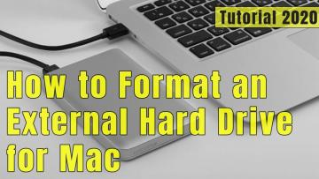 Quick Steps on How to Format an External Hard Drive for Mac?