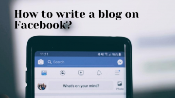 How to write blog on Facebook using Facebook Notes and Facebook Page?
