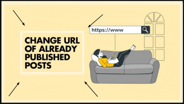 How to change post URL of previously published blog post without losing traffic.