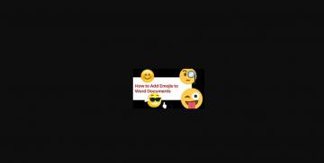 How to insert emoji in Microsoft Word Documents? Windows and Mac