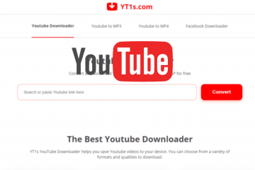 Download YouTube Video and Music to PC using YT1s on a PC