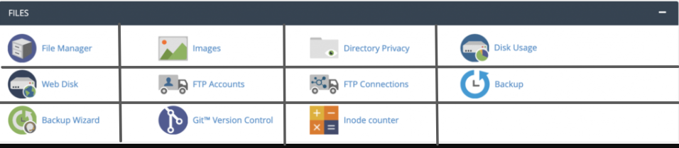 File management in cPanel