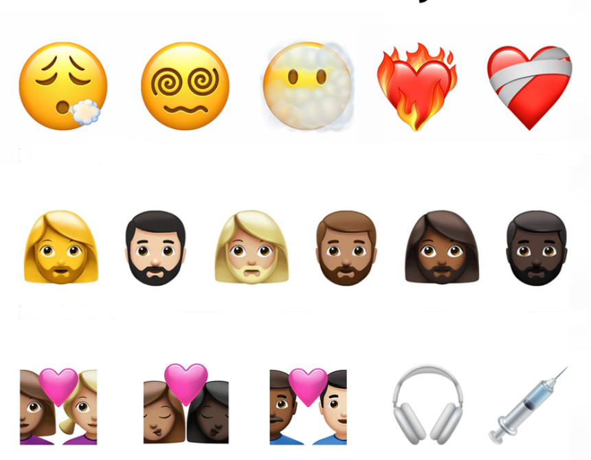New emoji in iOS 14.5