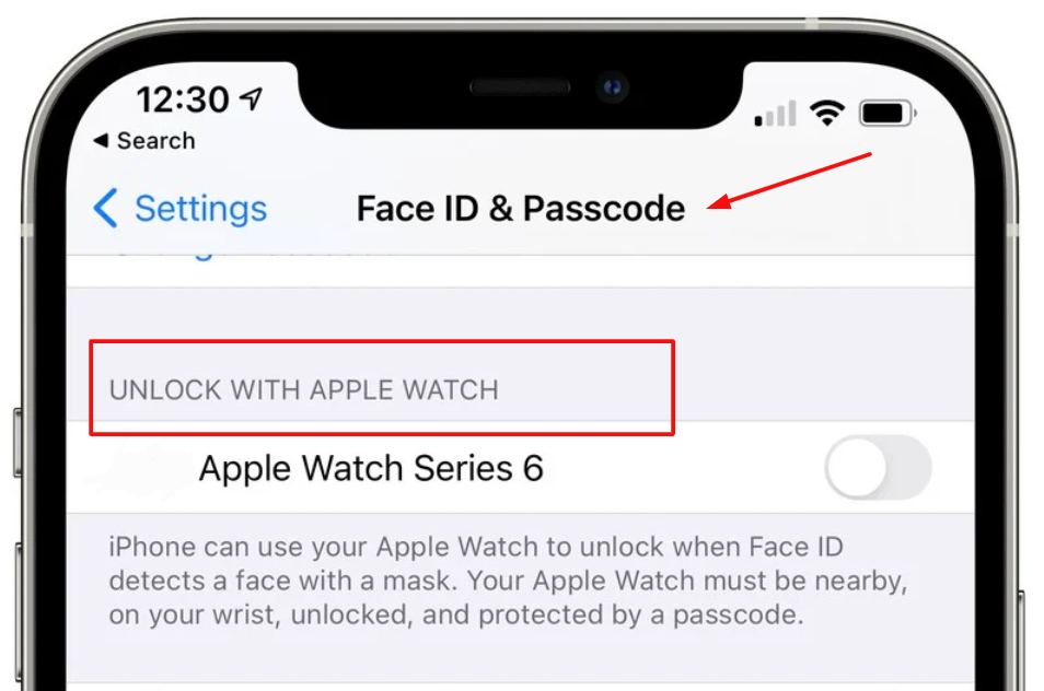 Unlock your iPhone with Apple watch
